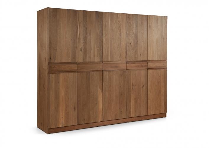 Juvo stemio garderobekast ste kl5 collectie kasten for Garderobe 220 cm