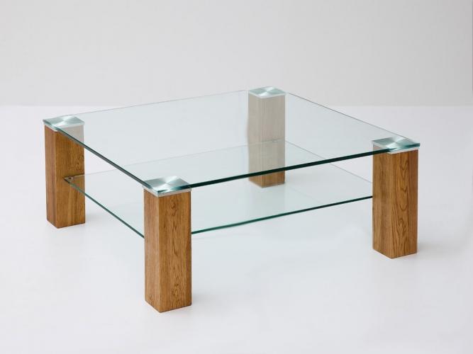 Salontafel Eiken Met Glas.Goretti Salontafel Alma I Collectie Kasten Tafels Bedden