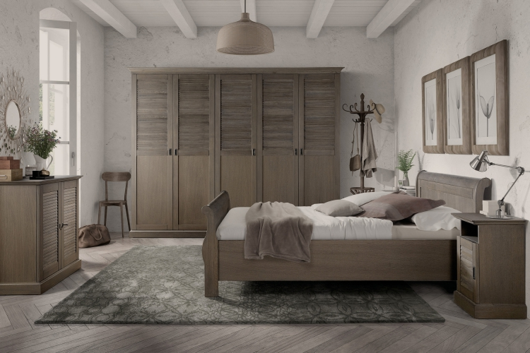 Landelijke Slaapkamer Kleuren : Slaapkamer classico collectie kasten tafels bedden fauteuils